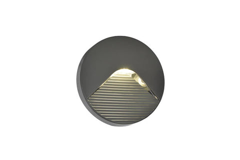 BREEZ Surface louvered Circular brick - Guide Light