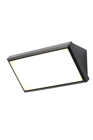 Derby LED Wedge Wall Fitting Black