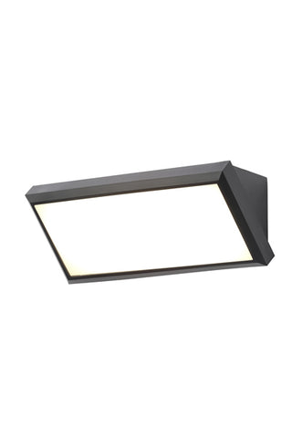 Luton Small LED Wedge Wall Fitting Black