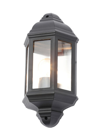 Coast Athena Wall Lantern Black