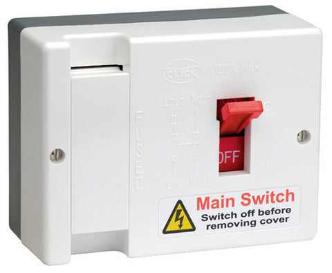 100a Fused Main Switch (80a Hrc Fuse Fitted)