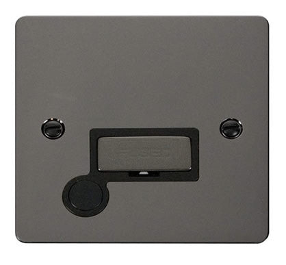 Flat Plate Black Nickel Ingot 13A Connection Unit  + Flex - Black
