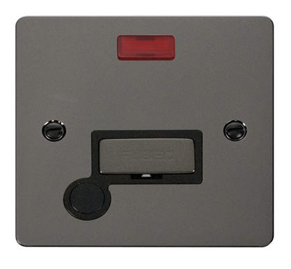 Flat Plate Black Nickel Ingot 13A Connection Unit  + Flex + Neon - Black