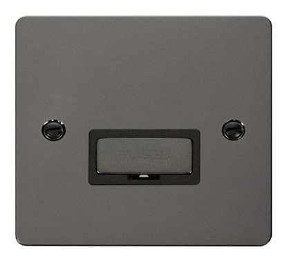 Flat Plate Black Nickel Ingot 13A Connection Unit  - Black