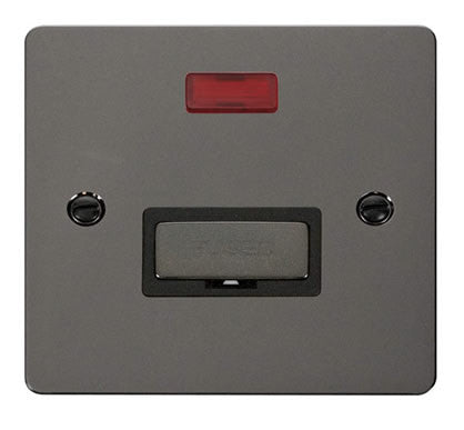 Flat Plate Black Nickel Ingot 13A Connection Unit  + Neon  - Black
