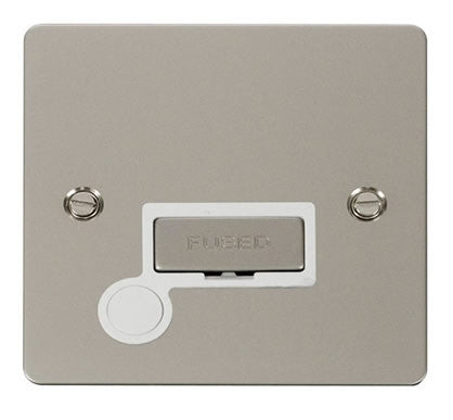Flat Plate Pearl Nickel Ingot 13A Connection Unit  + Flex - White