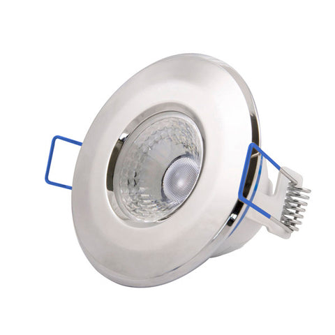 4.8W LED Fixed Dimmable Downlight - Chrome Bezel