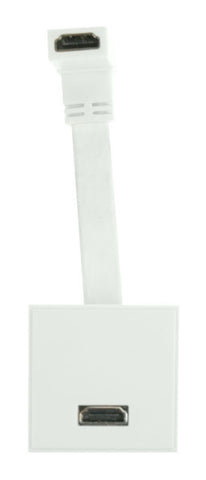 2 Way HDMI Module & Fly Lead (White)