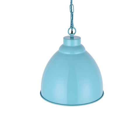 Oxford Vintage Pendant Light Duck Egg Blue Turquoise