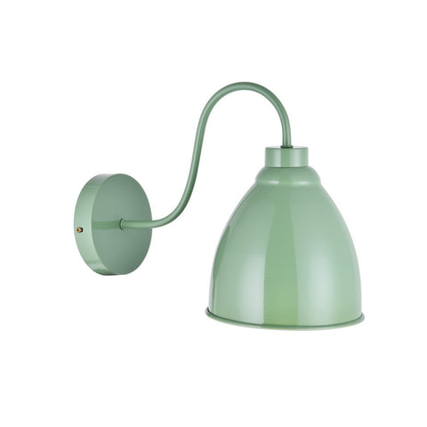 Oxford Vintage Wall Light Chalk Mint Green