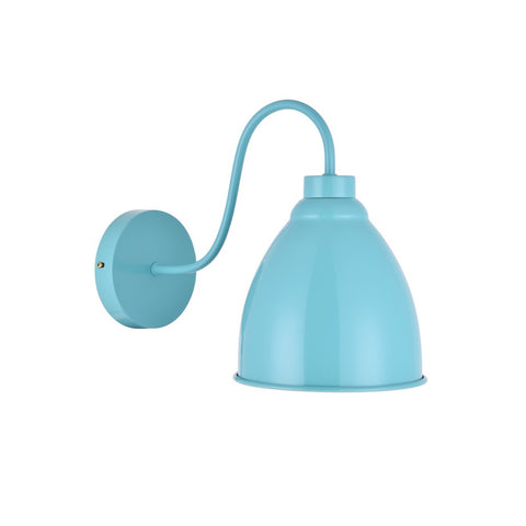 Oxford Vintage Wall Light Duck Egg Blue Turquoise