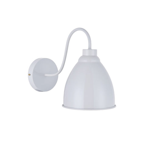 Oxford Vintage Wall Light Pale Grey