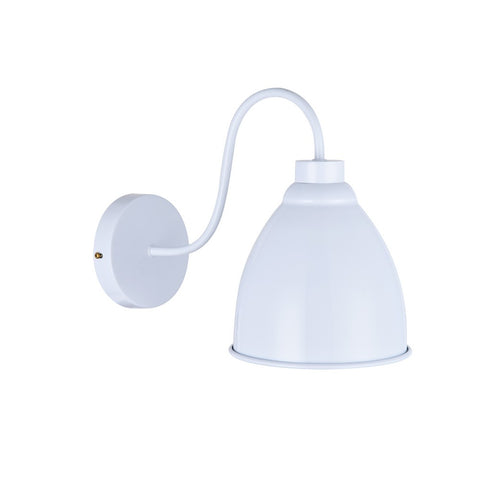 Oxford Vintage Wall Light Pure White