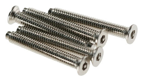 M3.5 Security Screw 22mm Long - Chrome (bag Of 100)