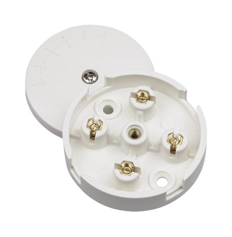 5A Junction Box Selective Entry 4 Terminal – White
