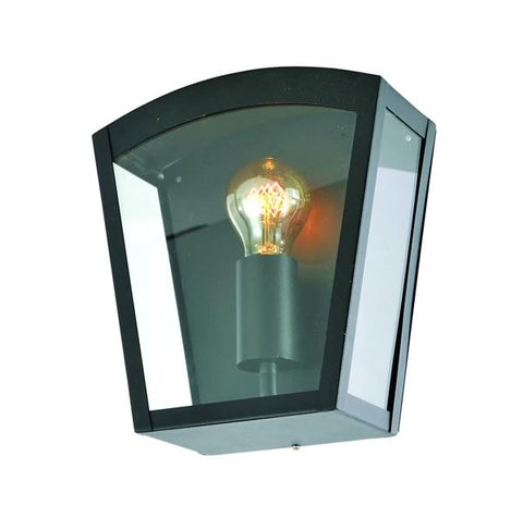 Black Stainless Steel Zinc Artemis Outdoor Wall Light -  IP44