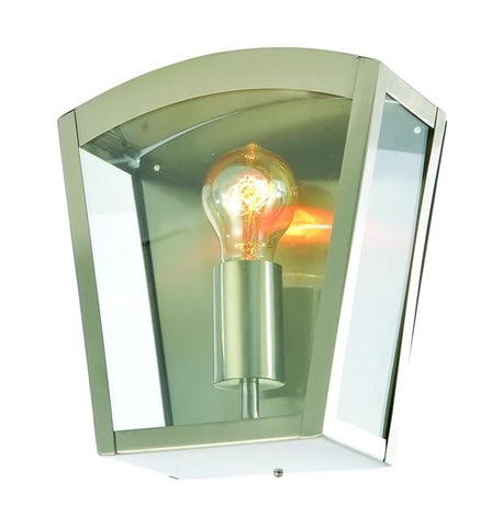 Stainless Steel Zinc Artemis Outdoor Wall Light -  IP44