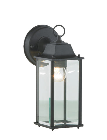 Black Diecast Aluminium Zinc Ceres Outdoor Wall Lantern -  IP44