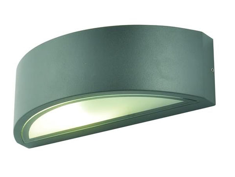 Anthracite Aluminium Zinc Selene Outdoor Up or Down Wall Light -  IP44