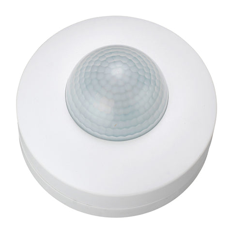 White Zinc Thebe Outdoor 360 Degree PIR Triple Motion Sensor -  IP20