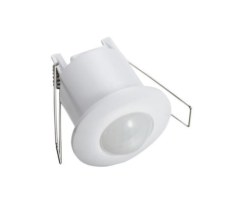 White Zinc Thebe 360 Degree PIR Recessed Motion Sensor -  IP20