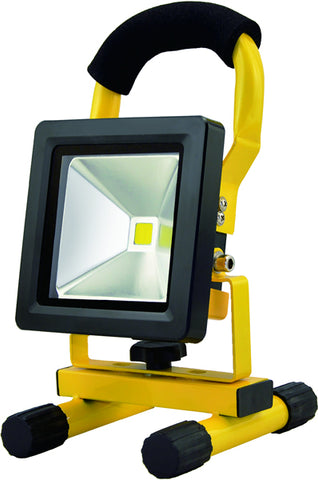 IP65 LED outdoor Rechargable work light 20W 6000K