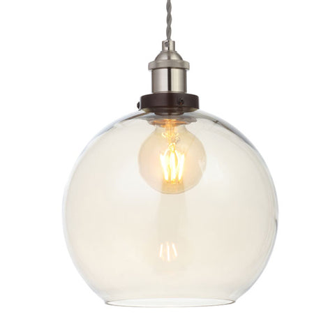 Algol Champagne Glass Sphere Pendant Light Shade