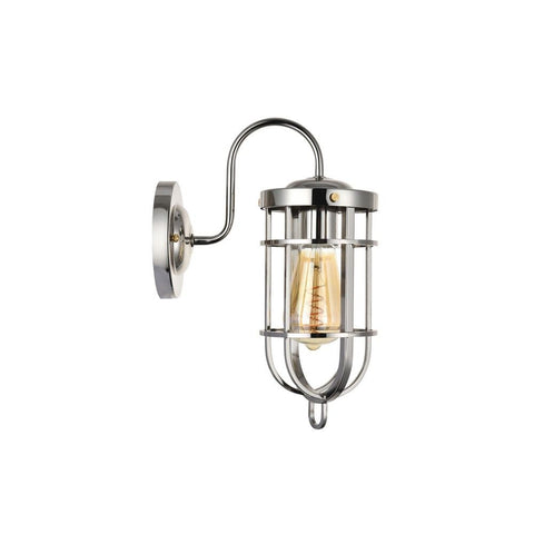 Richmond Elegant Polished Chrome Nautical Indoor Bulkhead Wall Light