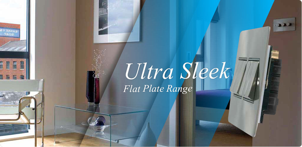 Flat Polished Brushed Stainless Steel