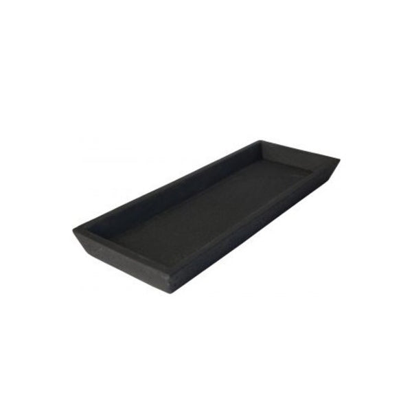 Concrete black tray