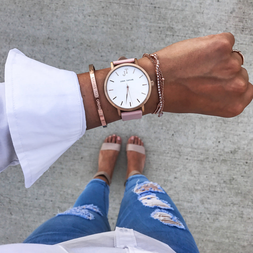 The Fraser Cuff - Rose Gold - John Taylor Watches