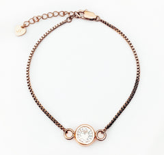 The Bella Bracelet - Rose Gold