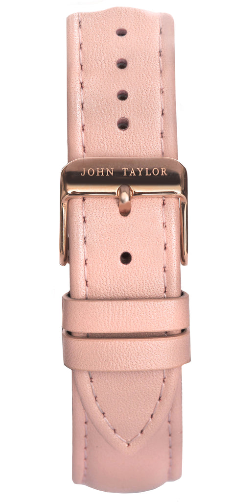 Blush & Rose Stitched - John Taylor Watches