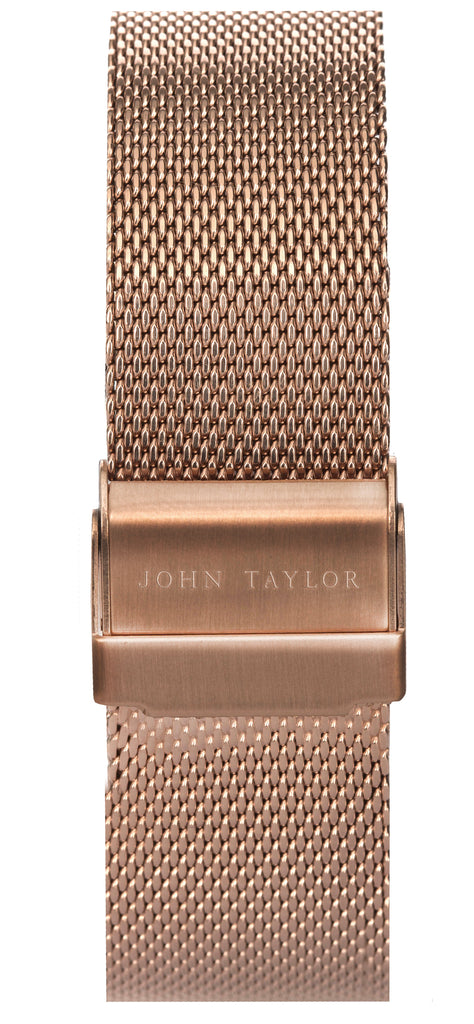 Rose Gold Mesh - John Taylor Watches