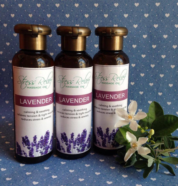 Calming Lavender Massage Oil