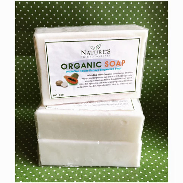 WhiteDeo Tawas Soap