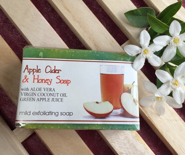 Apple Cider Vinegar with Honey Soap 120g