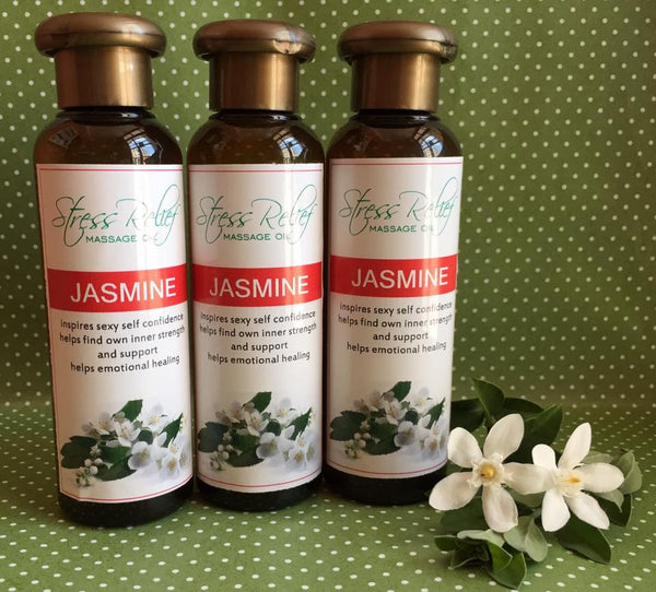 Sensual Jasmine Massage Oil