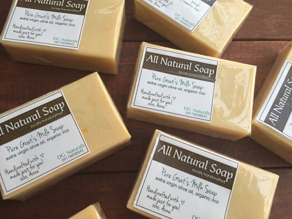 Pure Goat's Milk Unscented Soap