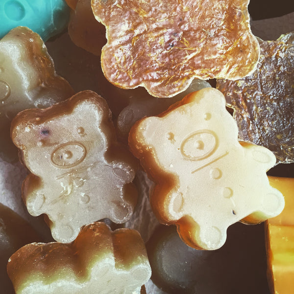 Teddy Bear Glycerin Soap