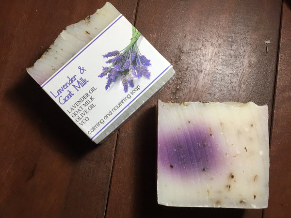 Lavender and Goat Milk Soap 110g