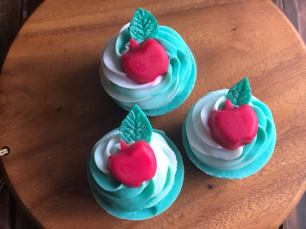 Cupcake Soap - Apple Top 100g