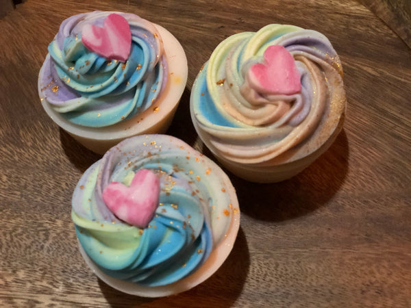 Cupcake Soap - Unicorn Frost