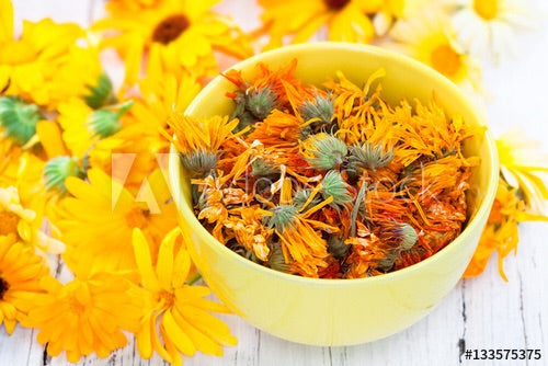 Dried Calendula Flowers 100g