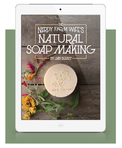 The Nerdy Farm Wife's Natural Soap Making by Jan Berry