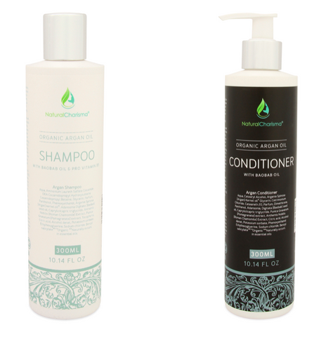 Organic Argan Oil Shampoo & Conditioner Bundle