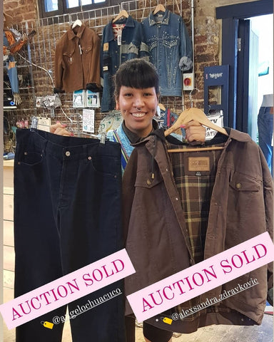 Koo Style Vintage Clothing Auction - Winning Items -  Live On Instagram