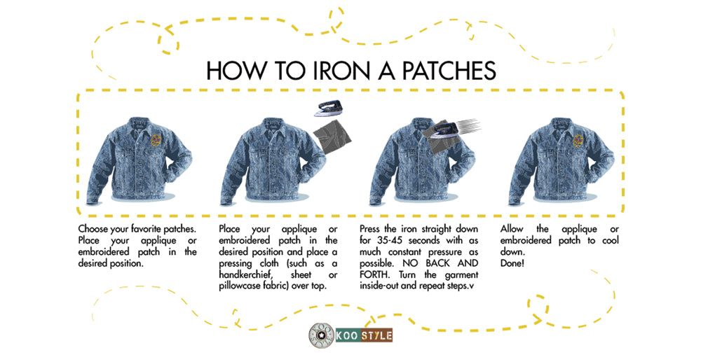 How to Iron a Patch