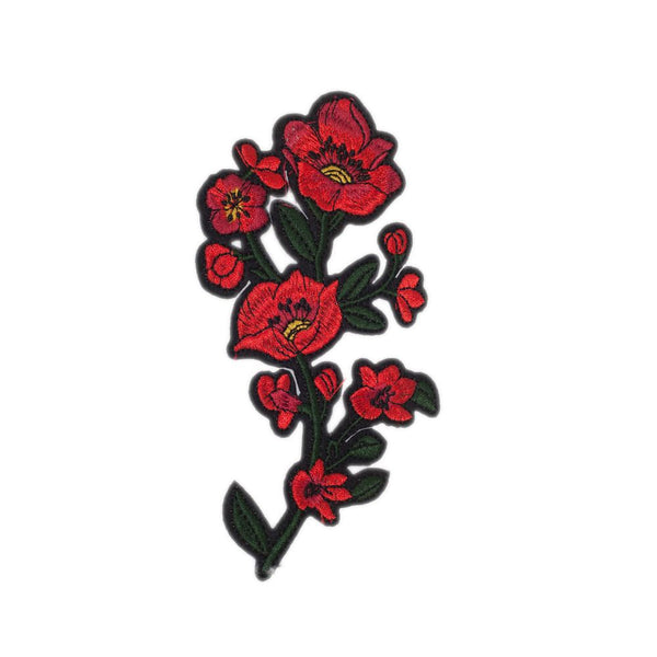 PC2463 - Red Flower (Iron On)