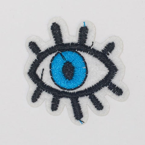 PC2437 - Tiny Blue Eye (Iron on)